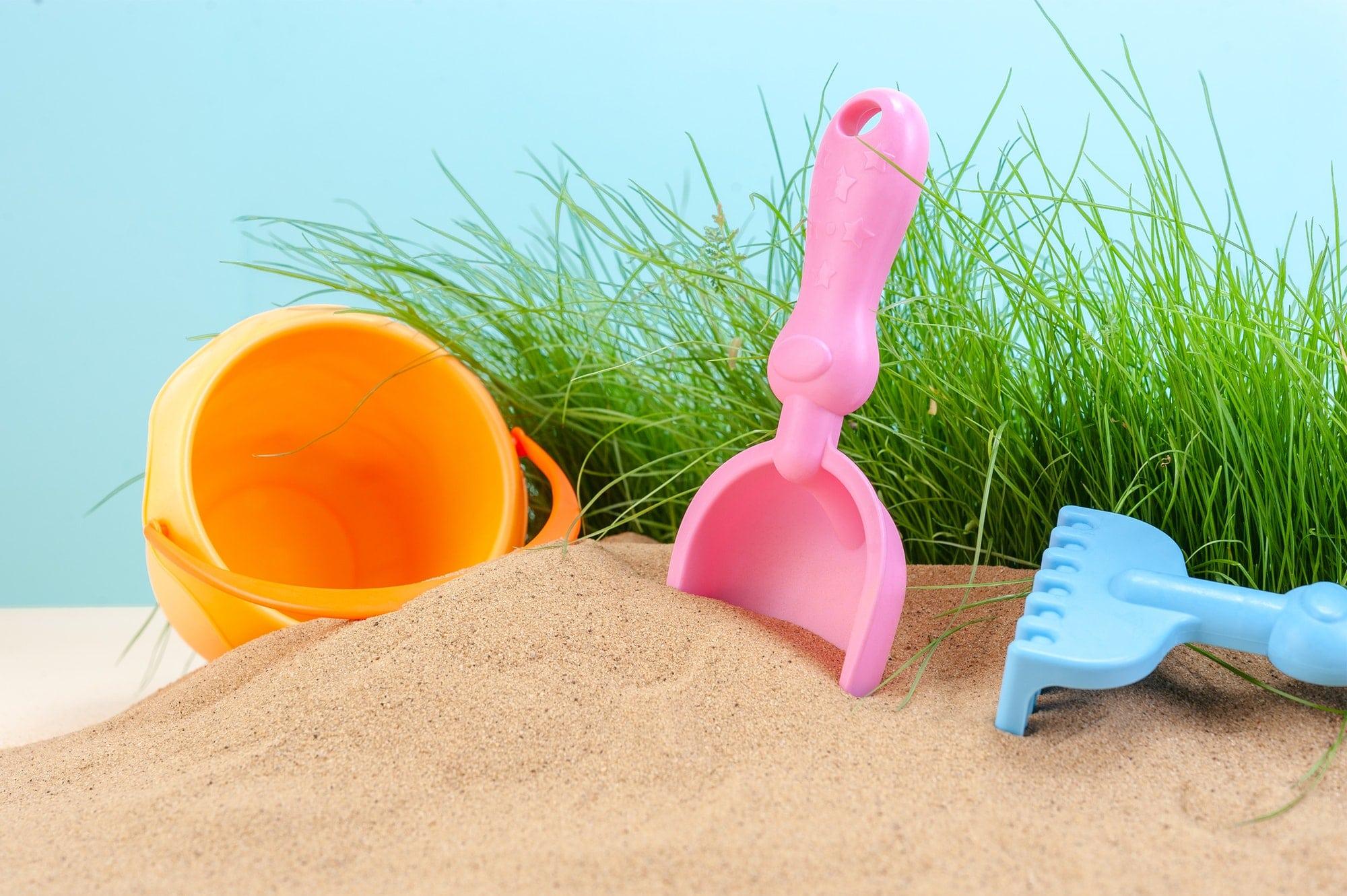 Children's toys for the sandbox.